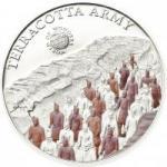 5 $ 2013 Palau - Wunder der Welt - Terrakotta Armee im Mausoleum Qin Shihuangdis