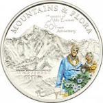 5 $ 2013 Palau - Berge & Pflanzen - 60. Jahrestag der Erstbesteigung des Mount Everest