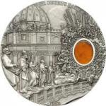10 $ 2013 Palau - Mineral Art - St. Peters Basilica
