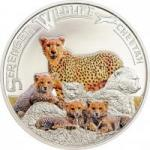 1000 Schillings 2013 Tansania - Serengeti Wildlife - Gepard