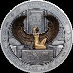 Vorverkauf! 20$ 2016 Palau - Ägyptische Symbole - Geflügelte Isis 3 oz