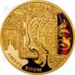 100 $ 2012 Niue Island - Geheimnisse der Geschichte - Bernsteinzimmer - Gold