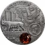 1 $ 2011 Niue Island - Amber Route - Aquileia