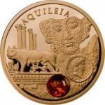5 $ 2011 Niue Island - Amber Route Aquileia Gold