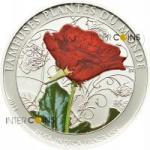 100 Francs 2011 Benin - die Rose - Duftmünze