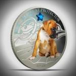 2 $ 2013 Fidschi - Hunde & Katzen - mein großartiger Beschützer - Boxer