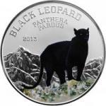 1000 Francs 2013 Kongo - Schwarzer Leopard - Panthera Pardus