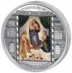 20 $ 2009 Cook Islands Sixtinische Madonna