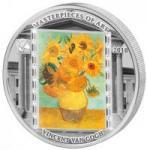 20 $ 2010 Cook Islands - Van Gogh - Sonnenblumen