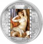 20$ 2012 Cook Islands - Renoir - Schlafende Baigneuse