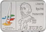 0,25 Euro 2007 Edgar Degas - Silber