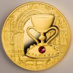 100 $ 2013 Niue Island - Geheimnisse der Geschichte - der Heilige Gral - Gold