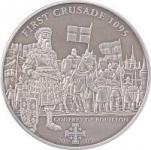 5 $ 2009 Cook Islands - Der erste Kreuzzug - Gottfried von Bouillon