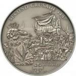 5 $ 2010 Cook Islands - Der zweite Kreuzzug - Ludwig der VII