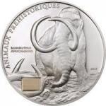 1000 Francs Elfenbeinküste - Mammut