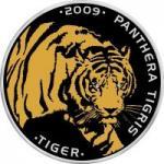 100 Tenge 2009 Kasachstan - Tiger