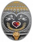 1 $ 2011 Niue Island - Love, Love, Love