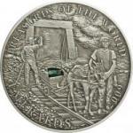 5 $ 2009 Palau - Schätze der Welt - Smaragd im Etui