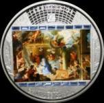 20 $ 2011 Cook Islands - Charles le Brun - Die Anbetung der Hirten