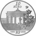 10 Euro 2009 Europa - Mauerfall