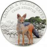 1000 Francs 2012 Niger - Streifenschakal / Canis Adustus
