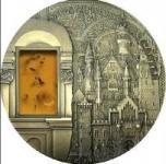 10 $ 2011 Palau - Mineral Art - Schloss Neuschwanstein