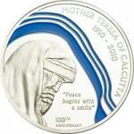 2 $ 2010 Palau - Mutter Teresa / Mother Teresa