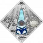 10 $ 2012 Palau - Holy Windows - Die Kathedrale von Brasilia in Brasilien