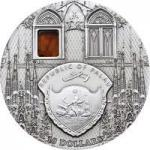 10 $ 2010 Palau - Mineral Art - Sagrada Familia