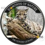 10$ Fiji 2013 - Diamonds Of Nature - Clouded Leopard