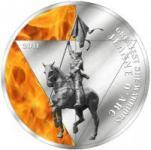 500 Francs 2011 Togo - Johanna von Orleans im Etui