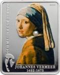 5 $ 2009 Cook Islands - Johannes Vermeer