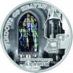 10 $ 2012 Cook Islands - Windows of Heaven - Krakauer Franziskanerkirche