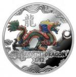 """1 $ 2011 Niue Island - Jahr des Drachen mit """"Perle"""""""