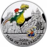 1 $ 2011 Niue Island - Jahr des Drachen