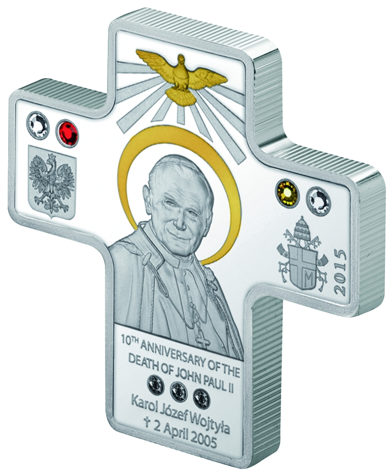 5$ 2015 Cook Islands 10 Todestag Von John Paul Ii Karol Wojtyla